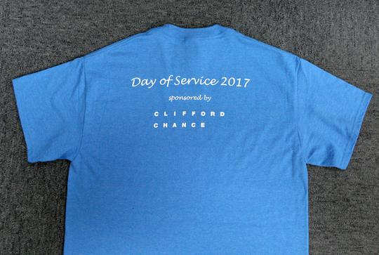 イベントに参加するスタッフ全員が着るシャツ【NOBU TENNIS BLOG】