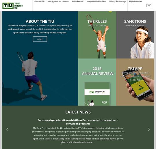 テニスの不正防止機関「テニス・インテグリティ・ユニット」【NOBU TENNIS BLOG】