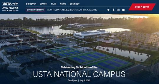 USTA National Campusのお土産をいただきました【NOBU TENNIS BLOG】