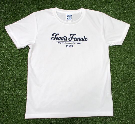 レディス「Tennis Female」を作りました【NOBU TENNIS BLOG】