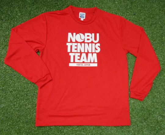 NOBU TENNIS TEAMの長袖ドライTee-Shirts【NOBU TENNIS BLOG】